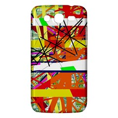 Colorful Abstraction By Moma Samsung Galaxy Mega 5 8 I9152 Hardshell Case  by Valentinaart