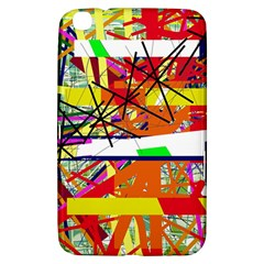 Colorful Abstraction By Moma Samsung Galaxy Tab 3 (8 ) T3100 Hardshell Case  by Valentinaart