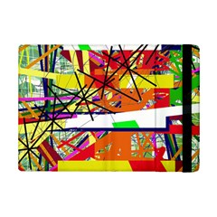 Colorful Abstraction By Moma Ipad Mini 2 Flip Cases by Valentinaart