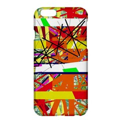 Colorful Abstraction By Moma Apple Iphone 6 Plus/6s Plus Hardshell Case by Valentinaart