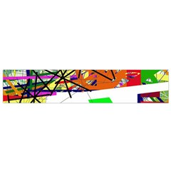 Colorful Abstraction By Moma Flano Scarf (small) by Valentinaart