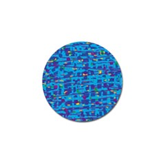 Blue Decorative Art Golf Ball Marker (4 Pack) by Valentinaart