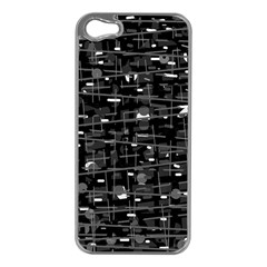 Simple Gray Apple Iphone 5 Case (silver)