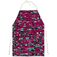 Magenta Decorative Design Full Print Aprons by Valentinaart