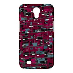 Magenta Decorative Design Samsung Galaxy Mega 6 3  I9200 Hardshell Case by Valentinaart