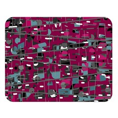 Magenta Decorative Design Double Sided Flano Blanket (large)  by Valentinaart