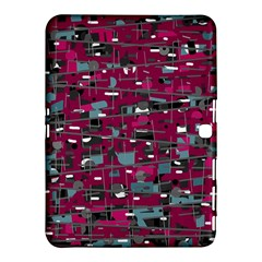 Magenta Decorative Design Samsung Galaxy Tab 4 (10 1 ) Hardshell Case  by Valentinaart