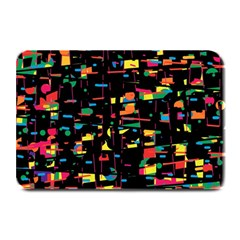 Playful Colorful Design Plate Mats by Valentinaart