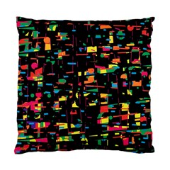 Playful Colorful Design Standard Cushion Case (one Side) by Valentinaart
