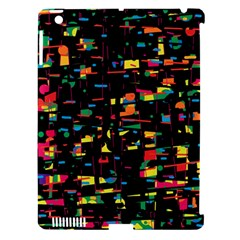 Playful Colorful Design Apple Ipad 3/4 Hardshell Case (compatible With Smart Cover) by Valentinaart