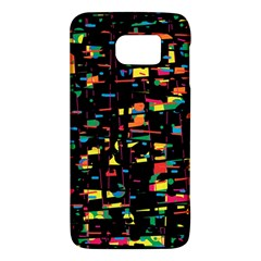 Playful Colorful Design Galaxy S6 by Valentinaart