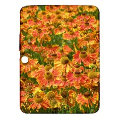 Helenium Flowers And Bees Samsung Galaxy Tab 3 (10 1 ) P5200 Hardshell Case  by GiftsbyNature