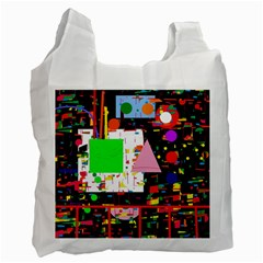 Colorful Facroty Recycle Bag (one Side) by Valentinaart