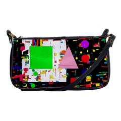 Colorful Facroty Shoulder Clutch Bags by Valentinaart