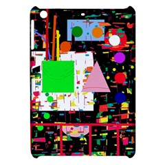Colorful Facroty Apple Ipad Mini Hardshell Case by Valentinaart