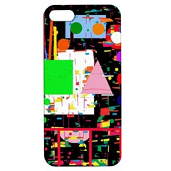 Colorful Facroty Apple Iphone 5 Hardshell Case With Stand by Valentinaart