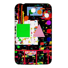 Colorful Facroty Samsung Galaxy Tab 3 (7 ) P3200 Hardshell Case  by Valentinaart