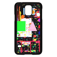 Colorful Facroty Samsung Galaxy S5 Case (black) by Valentinaart