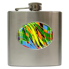Jungle Hip Flask (6 Oz) by Valentinaart