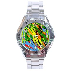 Jungle Stainless Steel Analogue Watch by Valentinaart