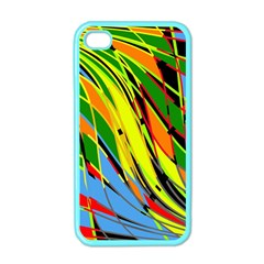 Jungle Apple Iphone 4 Case (color) by Valentinaart