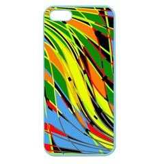 Jungle Apple Seamless Iphone 5 Case (color) by Valentinaart