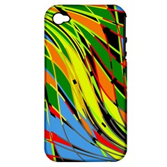 Jungle Apple Iphone 4/4s Hardshell Case (pc+silicone) by Valentinaart