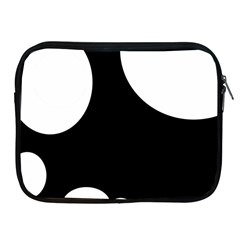 Black And White Moonlight Apple Ipad 2/3/4 Zipper Cases by Valentinaart