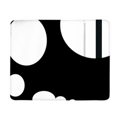 Black And White Moonlight Samsung Galaxy Tab Pro 8 4  Flip Case