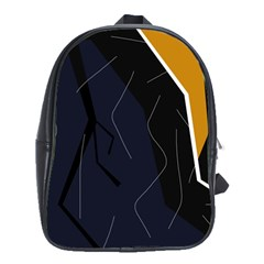 Digital Abstraction School Bags(large)  by Valentinaart