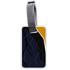 Digital Abstraction Luggage Tags (two Sides)
