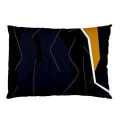 Digital Abstraction Pillow Case (two Sides) by Valentinaart
