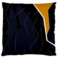 Digital Abstraction Standard Flano Cushion Case (one Side) by Valentinaart