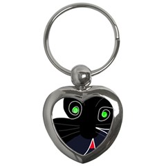 Big Cat Key Chains (heart)