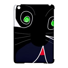 Big Cat Apple Ipad Mini Hardshell Case (compatible With Smart Cover) by Valentinaart