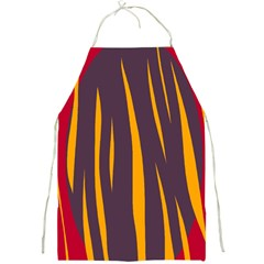 Fire Full Print Aprons by Valentinaart