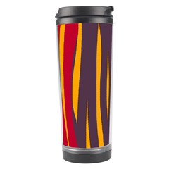 Fire Travel Tumbler by Valentinaart
