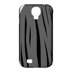 Gray, Black And White Design Samsung Galaxy S4 Classic Hardshell Case (pc+silicone) by Valentinaart