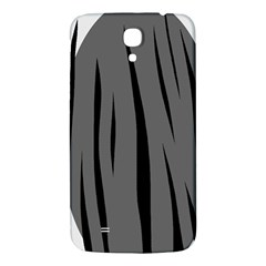 Gray, Black And White Design Samsung Galaxy Mega I9200 Hardshell Back Case by Valentinaart