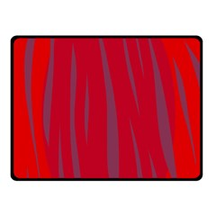 Hot Lava Double Sided Fleece Blanket (small)  by Valentinaart