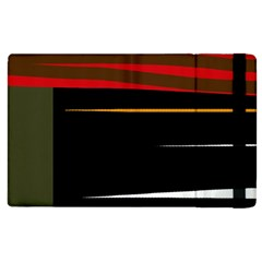 Colorful Lines  Apple Ipad 3/4 Flip Case by Valentinaart