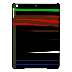 Colorful Lines  Ipad Air Hardshell Cases by Valentinaart