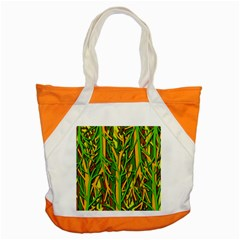 Upside Down Forest Accent Tote Bag by Valentinaart