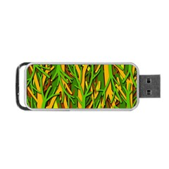 Upside Down Forest Portable Usb Flash (one Side) by Valentinaart