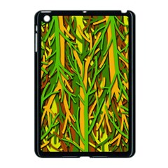 Upside-down Forest Apple Ipad Mini Case (black) by Valentinaart