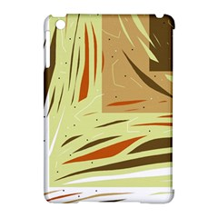 Brown Decorative Design Apple Ipad Mini Hardshell Case (compatible With Smart Cover) by Valentinaart