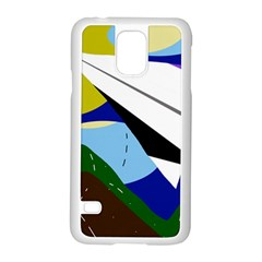 Paper Airplane Samsung Galaxy S5 Case (white)