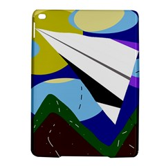 Paper Airplane Ipad Air 2 Hardshell Cases by Valentinaart