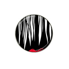 Black Forest Hat Clip Ball Marker (4 Pack) by Valentinaart