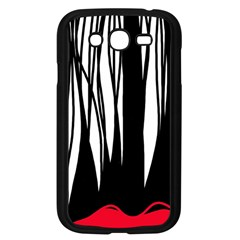Black Forest Samsung Galaxy Grand Duos I9082 Case (black) by Valentinaart